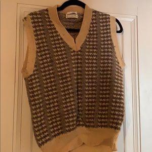 VINTAGE Christian Dior sweater v neck vest